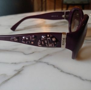 Emilio Pucci deep purple sunglasses
